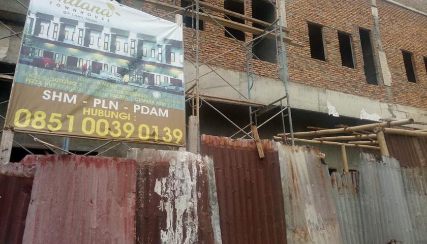DPRD Medan Soroti Maraknya Bangunan tanpa IMB di Brayan