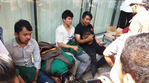 Demo di Depan DPRD Sumut Ricuh, Mahasiswa Terluka