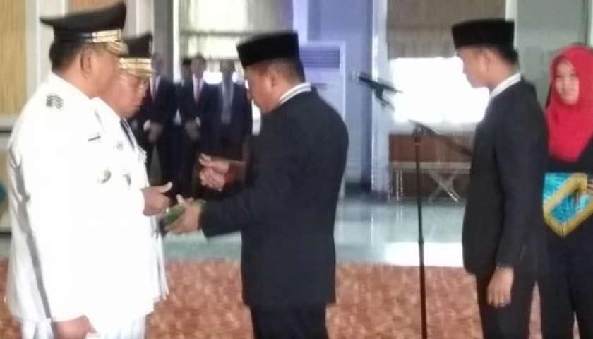 Gubsu Edy Rahmayadi Lantik Walikota Padang Sidempuan