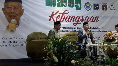 Ijtima Ulama II Dukung Prabowo, Ma'ruf: Itu Hak Politik