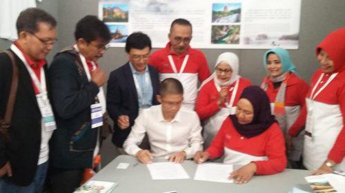 RI-Tiongkok Tandatangani Kerja Sama Geopark Toba dan Yandangsan