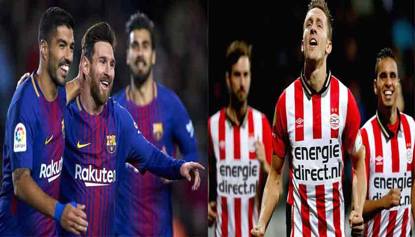Prediksi Liga Champions Barcelona vs PSV Eindhoven 18 September 2018