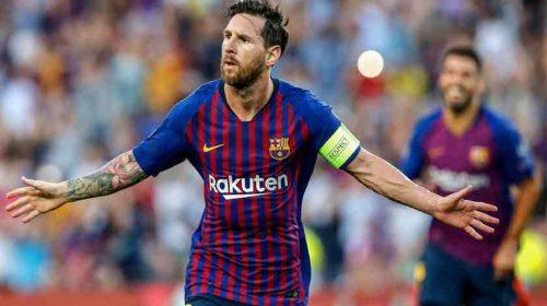 """Lionel Messi Tunjukkan """"Sihirnya"""" Kembali Cetak Hat-trick"""