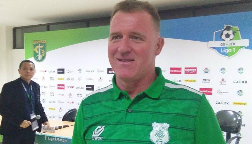 Pelatih PSMS Medan Peter Butler Bangga Dengan Pemain Tampil Bagus