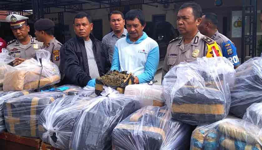 Pengiriman Ganja Digagalkan, 'Rumput Aceh' 200 Kg Batal Beredar