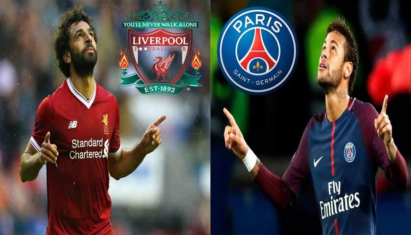 Prediksi Liga Champions Dinihari Nanti, Liverpool vs Paris Saint Germain