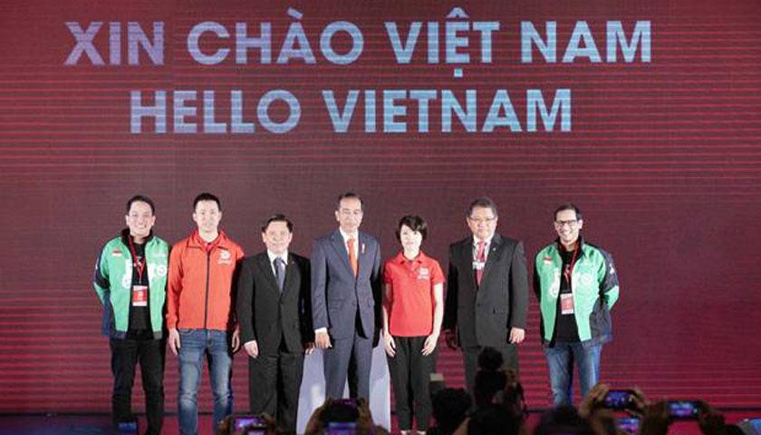 Presiden Jokowi Jadi Saksi Go-Jek Mengaspal di Vietnam