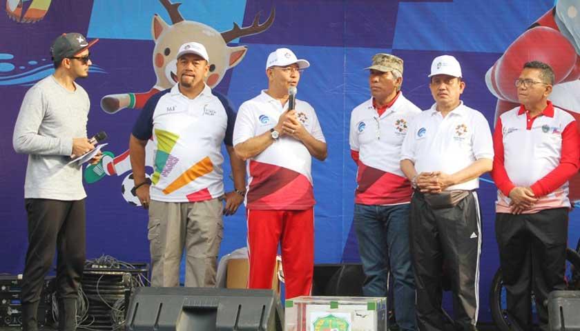 Ribuan Masyarakat Ikuti CFD & Pesta Rakyat Dukung Asian Games 2018