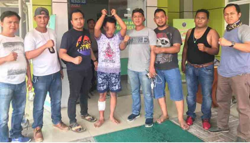 Tahanan Kabur Ditangkap, Betisnya Dibolongi Peluru Polisi