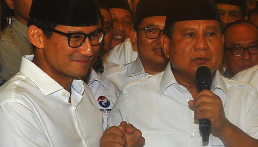 Timses Prabowo-Sandi Yakin Mampu Saingi Jokowi-Ma'ruf