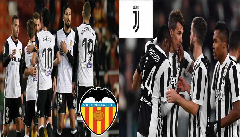 Prediksi Liga Champions Valencia vs Juventus 20 September 2018