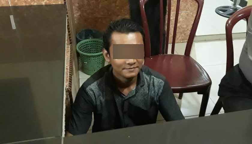 Pacar Digauli Hingga Melahirkan, Pria Ini Diarak ke Kantor Polisi
