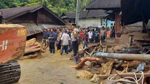 Banjir Bandang Madina, Poldasu Bantu Pulihkan Psikologis Korban