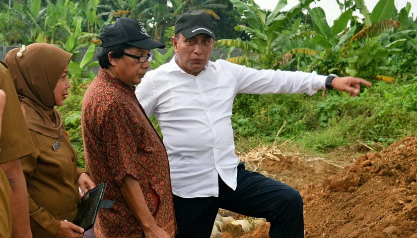 Gubernur Tinjau Situs Benteng Puteri Hijau