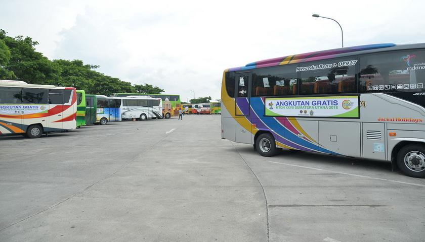 Bus Gratis MTQN XXVII Minggu Besok Beroperasi