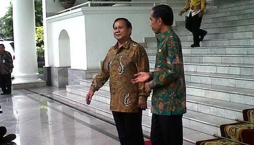 Demi Kedamaian, Jokowi-Prabowo Diminta Segera Bertemu