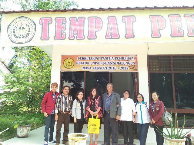 Corry Purba Resmi Menjabat Rektor Universitas Simalungun yang Baru