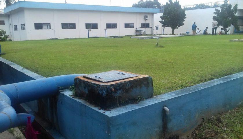 Pencucian Reservoir dan Pemasangan M-Flow Meter Ganggu Distribusi Air