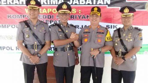 Dua Perwira di Jajaran Polres Pelabuhan Belawan Dimutasi