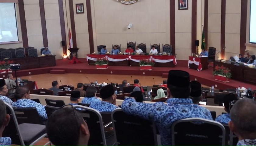 Walikota Sampaikan Ranperda Perubahan RPJMD ke DPRD Medan
