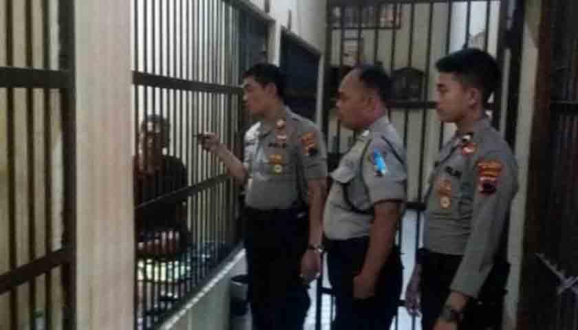 Kabur dari Sel Tahanan Terkapar Diterjang Peluru Polisi