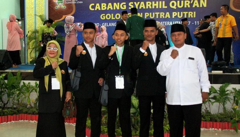 Sumut Sabet Juara I Cabang Syarhil Quran Putera