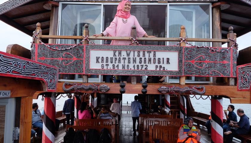 Kapal Wisata Samosir Sumbang PAD Ratusan Juta Rupiah