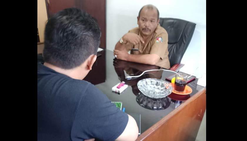 "Lamban Tangani Persiapan Lahan Usaha Tani Pengungsi di Siosar, Kadis DLH Karo ""Warning"" PT SGM"