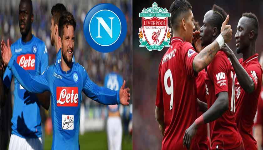 Prediksi Liga Champions Napoli vs Liverpool 4 Oktober 2018