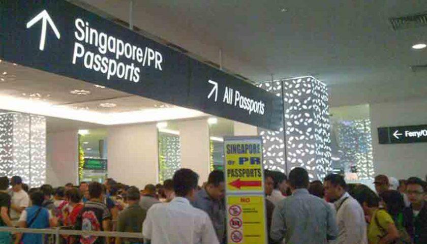Mau ke Singapura, Silakan Isi Formulir Online Ini