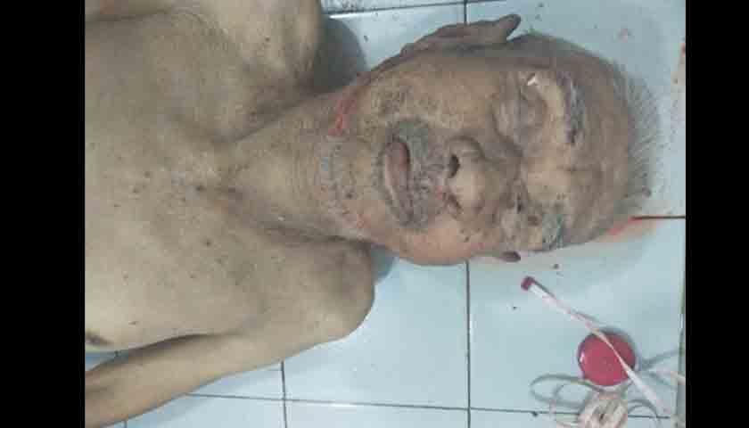mayat pria telanjang tewas