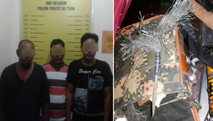 OKP Bentrok di Kampung Atas, Tiga Orang Diamankan