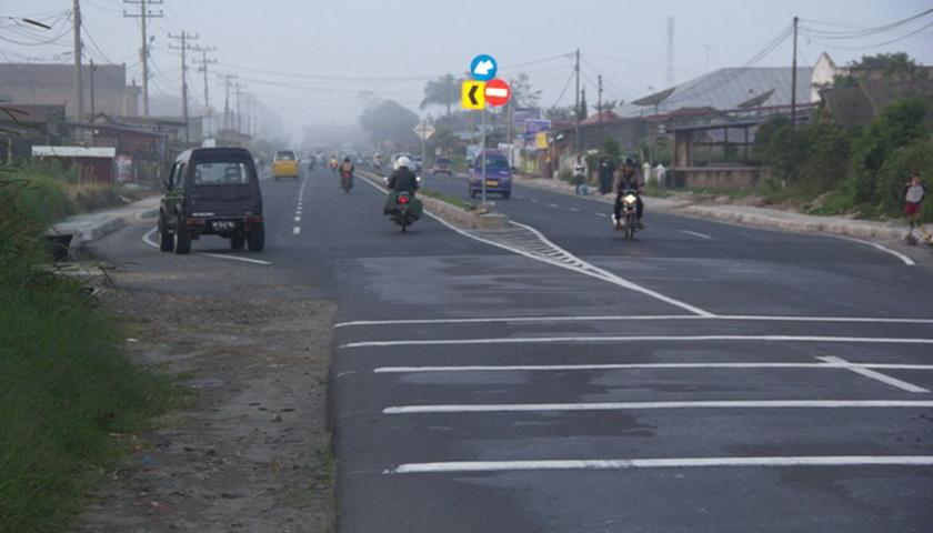 Pelebaran Jalan Kabanjahe-Berastagi Dianggarkan di APBN 2019
