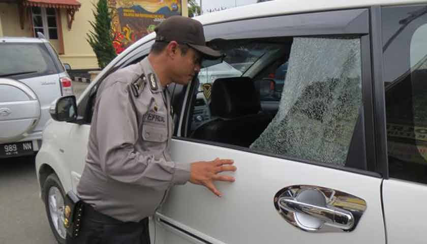 Perampok Modus Pecah Kaca Mobil Ditembak Polisi