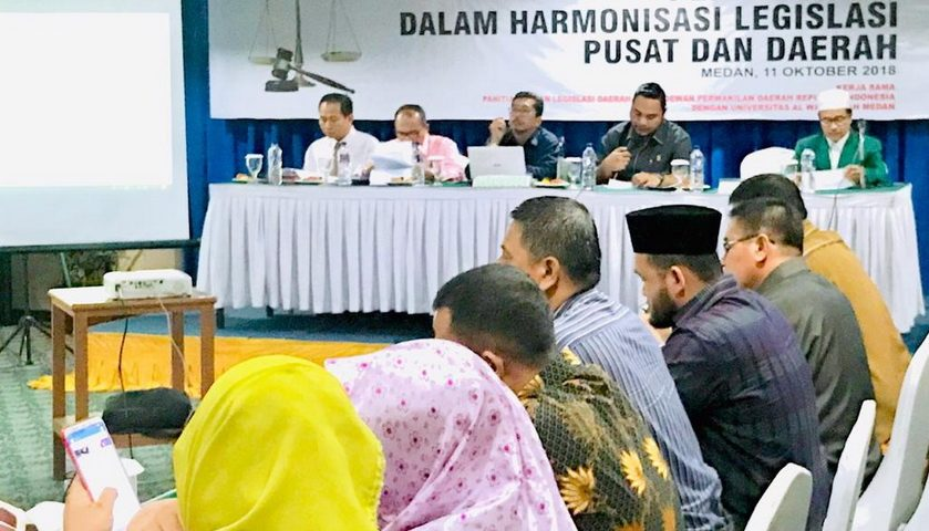 Anggota DPRD Medan Beberkan Benturan Legislasi Pusat dan Daerah