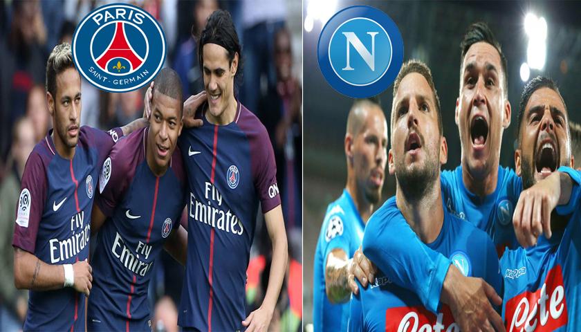 Prediksi Liga Champions Paris Saint Germain vs Napoli 25 Oktober 2018