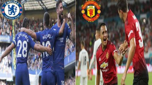 Prediksi Liga Inggris Chelsea vs Manchester United 20 Oktober 2018