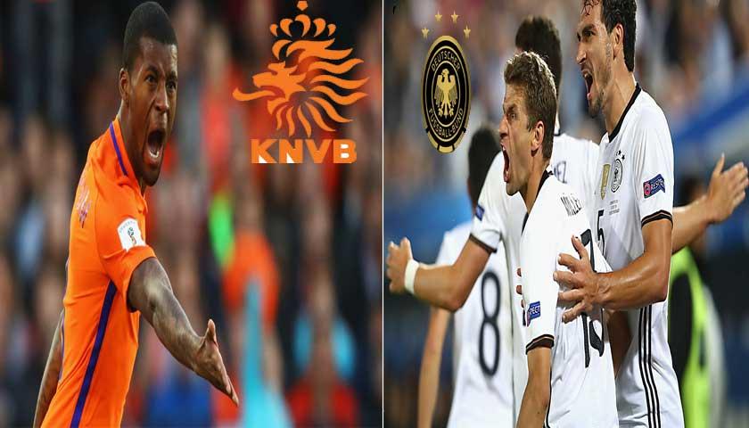 Prediksi UEFA Nations League Belanda vs Jerman 14 Oktober 2018