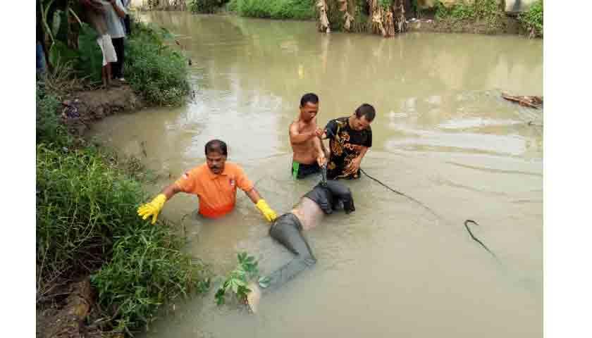 Pria Putus Cinta Tewas Mengambang di Sungai Bahilang