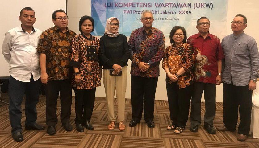 PWI Bersama PT Gajah Tunggal Sukses Gelar UKW ke 35