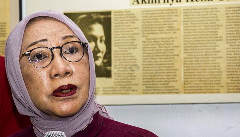 Ratna Sarumpaet Ditahan Saat akan Terbang ke Cile