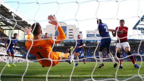 Gol Ross Barkley Buyarkan Kemenangan Manchester United