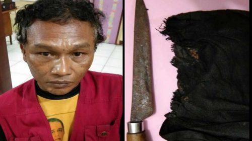Selipkan Sajam, Jukir Ditangkap Polisi