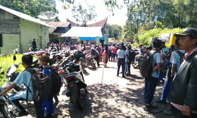 Siswa SMP Tewas Disambar Petir di Toba Samosir