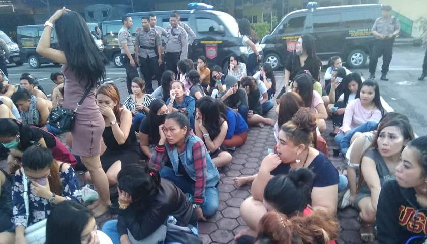 260 Tamu Diskotik LG Diamankan, 13 Diantaranya Pelajar