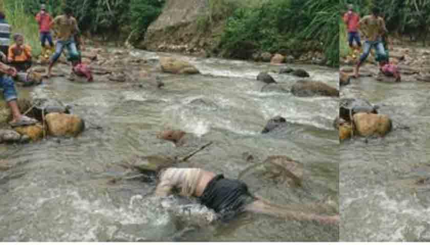 Tapanuli Utara Gempar..!!! 2 Mayat Wanita Mengapung di Sungai