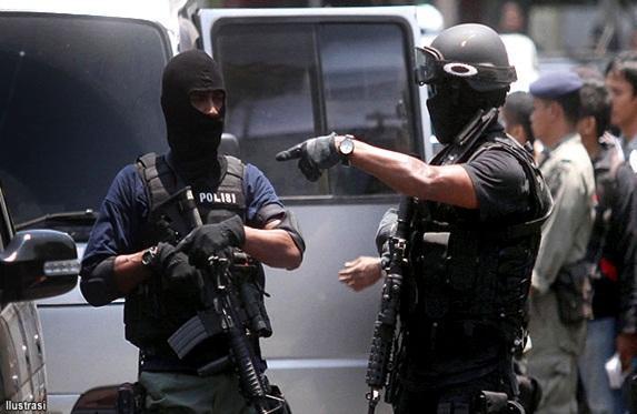 Teroris di Tanjungbalai Hendry Manurung Cs Roboh Didor Densus 88