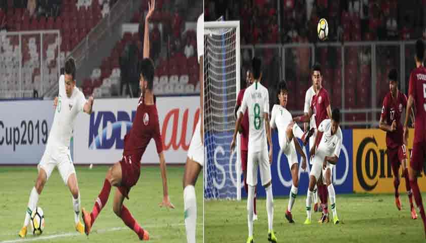 Walau Kalah atas Qatar, Perjuangan Timnas Indonesia U-19 Luar Biasa