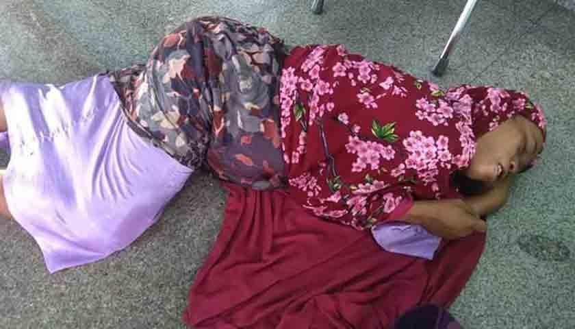 Tewas di Masjid, Wanita Tanpa Identitas