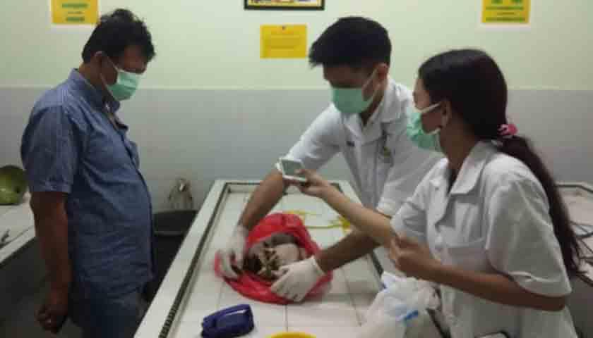 Geger..!!! Warga Temukan Mayat Bayi Perempuan di Pos Jaga Malam